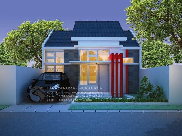 Jasa Desain Rumah Minimalis Modern 1 Lantai di Surabaya