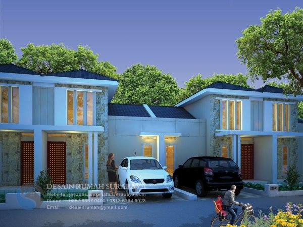 Jasa Gambar Rumah Minimalis Modern 1 Lantai di Sidoarjo
