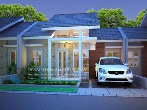 Jasa Desain Rumah Type 36 Kesan Megah di Krian Sidoarjo