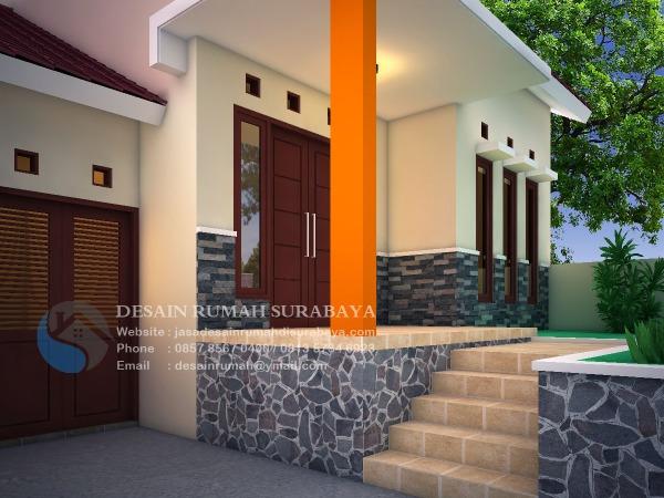 Jasa Desain Rumah Lahan Miring di Tuban 2